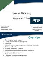 Theory of special relativity(Albert Einstein)