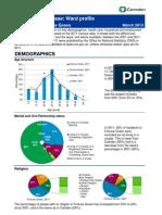 Ward Profile Fortune Green 2011