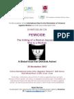 Symposium on Femicide