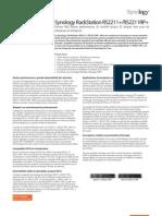 Synology_RS2211 _RS2211 RP_Data_Sheet_fra.pdf