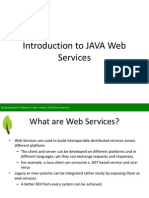 SpringPeople Introduction to JAVA Web Services