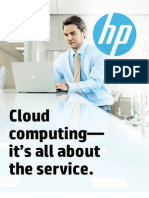 Cloud computing it's all about the service