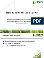 SpringPeople Introduction to Spring Framework