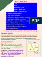 1 Ray Optics 1