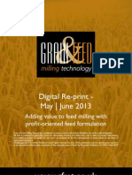 Adding value to feed milling with profit-oriented feed formulation
