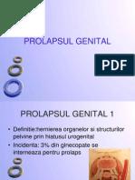 Prolapsul Genital