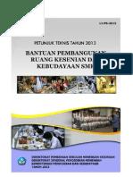 11 Bantuan Pembangunan Ruang Praktik Kesenian&Kebudayaan SMK