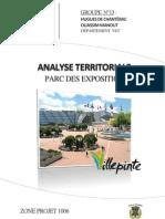Analyse territoriale du Parc des Expositions de Villepinte et propositions d'aménagement à l'horizon du Grand Paris