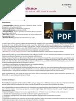 Compte-Rendu Repenser La Microfinance