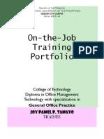Portfolio Joy Pamel Tamayo