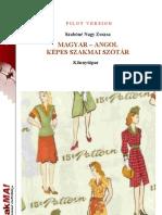 Ruhaipar Angol Magyar Szotara
