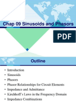 Chap 09 Sinusoids and Phasors-Rev