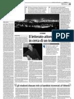 """""""Terre forti"""" su """"La Sicilia"""" del 19 aprile 2009"""