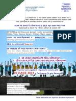 "Anunț Expediție ""Tinerii pentru Nîrnova 2013"""