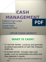 Cash Management Presentation