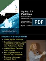 Partitioning in MySQL 5.1