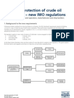 Corrosion Protection of Crude Cargo Oil Tanks New IMO Regulation