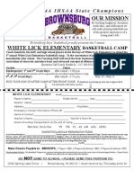 White Lick 08-09 Elementary Basketball Camp
