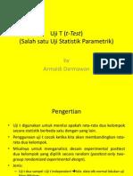 5.1 Uji T (t-Test)