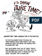 How to Draw Adventure Time