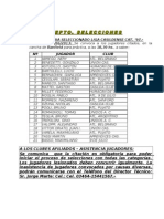 Bol. 18-13 Selecciones
