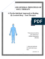 The Mind and General Principles of Soul Therapy - Revised