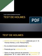 Test de Holmes