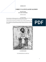 Claves Mayores y Claviculas de Salomon