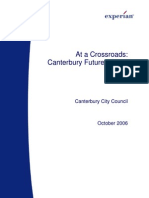 Canterbury District Futures Study (Experian 2006-10)