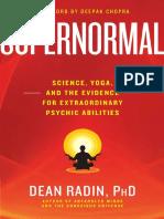 Supernormal by Dean Radin