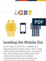Digitas LGBT Leading the Mobile Era Infographic