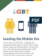 Digitas LGBT Leading the Mobile Era Infographic