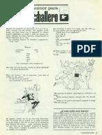Humor Para Cabllero. Caballero Abril 1966