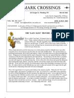 13 June-July Newsletter