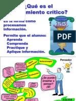 diapositivas_PENSAMIENTO CRITICO