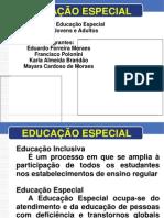 Apresentação Educação Especial