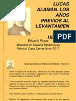 Lucas Alaman Los Años Previos a la Independencia