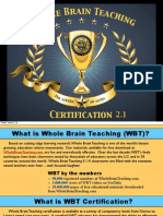 Whole Brain Teaching Certification 2.0