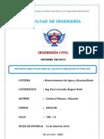Informe Tecnico Del Agua OMS