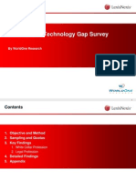 LexisNexis Technology Gap Survey 4 09
