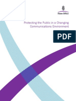 Protecting the Public in a Changing Communications Environment April