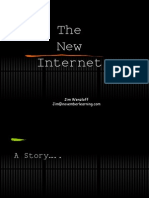 The New Internet Jim Wenzloff Jim@Novemberlearning.com a Story….. How