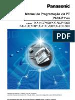 PTPM Manual de Programacao via PT