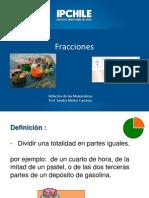 didáctica de las fracciones