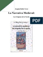 Rubio Tovar. La Narrativa Medieval