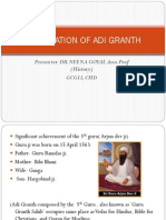 Compilation of Adi Granth