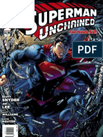 Superman Unchained Exclusive Preview