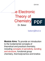 Electronic Theory of Chemistry