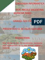 Proyecto Tecnologia Informatica. Nicole Valentina Barbosa