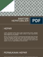 ANATOMI HEPATOBILIER